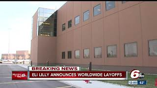 Indianapolis-based Eli Lilly cutting 2,000 U.S. jobs, citing streamlining the organization - Video