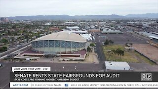 State senate rents Arizona fairgrounds for audit