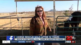 Bit-o-heaven Horse Rescue Ranch sold to new owners - Video