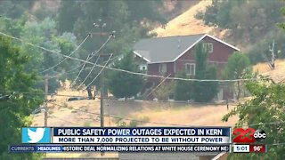 Power shutoffs expected for thousands of Kern County residents