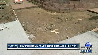 Denver to spend $15M to install or upgrade pedestrian ramps - Video