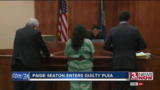 Paige Seaton enters guilty plea - Video