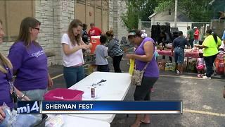 Shermanfest kicks off school year, unites neighborhood - Video