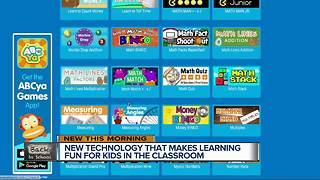 New technology makes learning fun for kids - Video