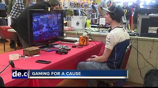 Gamers playing 24-hours straight to raise money for children's hospitals - Video