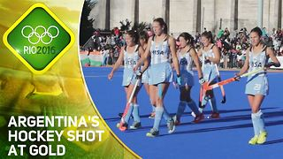 Rio 2016: Argentina's Hockey Shot at Gold - Video