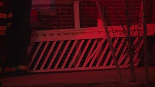 SUV crashes into home on East 87th Street in Cleveland