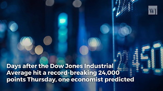 Trump's Economy: Expert Predicts Dow Will Pass 25,000 Within Days - Video