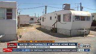 Mobile home community faces eviction and contaminated water - Video