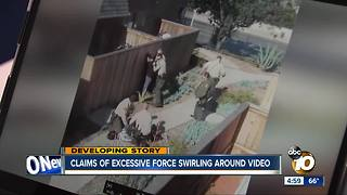 Claims of excessive force circulating after video