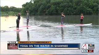Yoga on the water in Shawnee - Video