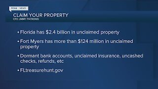 Florida has $2billion in unclaimed property