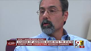 Change-of-address scam hits Greater Cincinnati - Video