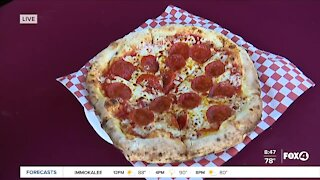 Food Truck Friday: Vesuvius wood fired pepperoni pizza