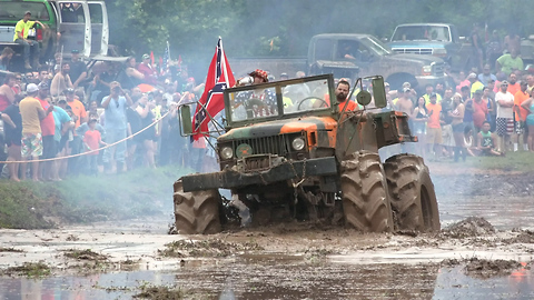 Truck Enthusiasts Get Down And Dirty At Louisiana Mudfest