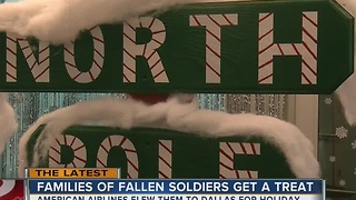 Tulsa families of fallen soldiers get a free holiday vacation from American Airlines