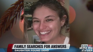 Tucson family searching for answers after daughters death - Video
