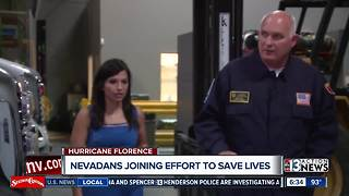 Nevadans joining effort to save lives on the east coast