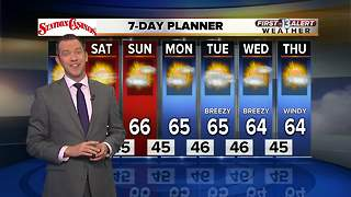 13 First Alert Las Vegas Weather for January 12th - Video