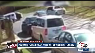 Woman's purse stolen while at her mother's funeral