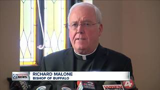 Embattled Buffalo Bishop Malone defies calls for his resignation - Video