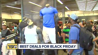 Thursday's Top 7: Best deals for Black Friday