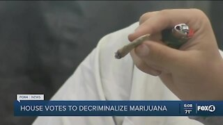 House votes to decriminalize marijuana