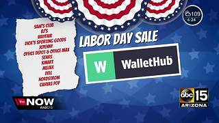 Ready to do some shopping on Labor Day? - Video