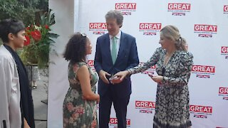 SOUTH AFRICA - Cape Town - British High Commissioner pre-SONA reception (Video) (R6Z)