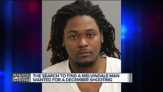 Detroit's Most Wanted: Tayvion Maxwell wanted for allegedly shooting into a Melvindale home