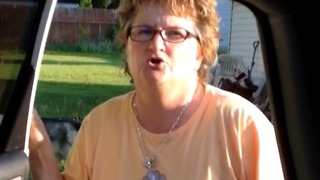 Lady Can't Believe She's Going To Be a Grandma - Video