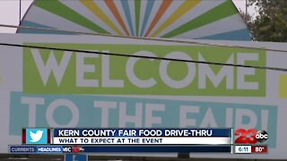 What to expect from the Kern County Fair Food Drive-Thru