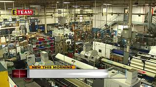 Manufacturing is hot in Northeast Ohio