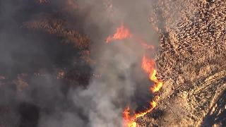 RAW: Boulder County wildfire