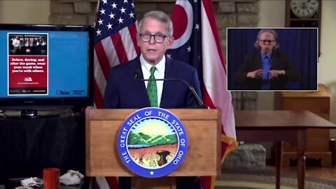 As COVID-19 tears through Ohio, governor says 'stick to our game plan,' and plans meetings with county leadership