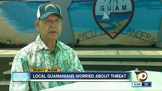 Local Guamanians worried about North Korea's threat - Video