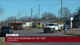 Two Milwaukee Department of Public Works employees hurt in crash, police say