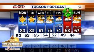 FORECAST: Warm before the next storm - Video