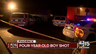 Police trying to determine how Phoenix child was shot - Video