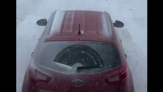 Snow Squalls Whip Through West Newfoundland After Hitting US Northeast