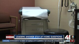 Leaders answer stay-at-home questions