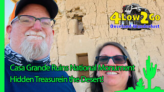 Casa Grande Ruins = Jewel of the desert