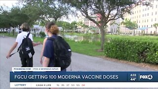 FGCU to give out covid vaccine