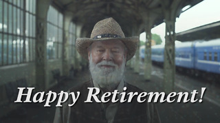 Happy Retirement Greeting Card 1
