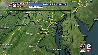 Maryland's Most Accurate Forecast - Cooler Air Coming - Video
