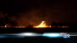 Border Patrol Agent charged for starting Sawmill Fire - Video