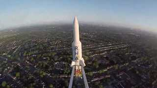 Primary School Pupils Send Rocket Into Space, Land It Successfully - Video