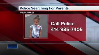 Milwaukee police need help identifying lost 2-year-old child - Video
