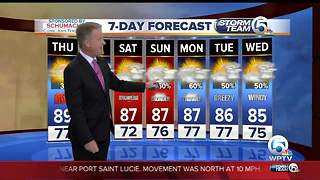 Latest Weather Forecast 5:30 p.m. Wednesday - Video