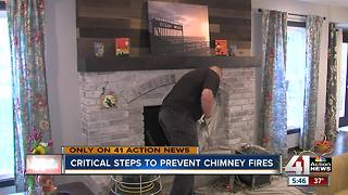 Check your chimney before you use your fireplace this season - Video